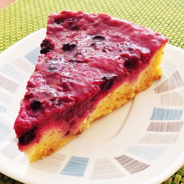 Vegan Berry Tart from Paleo, Medellin