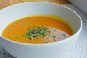 vegan carrot soup recipe