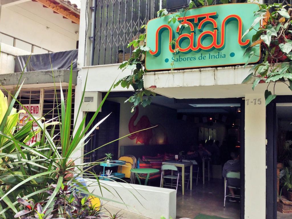 Naan Indian Restaurant, Medellin, Colombia