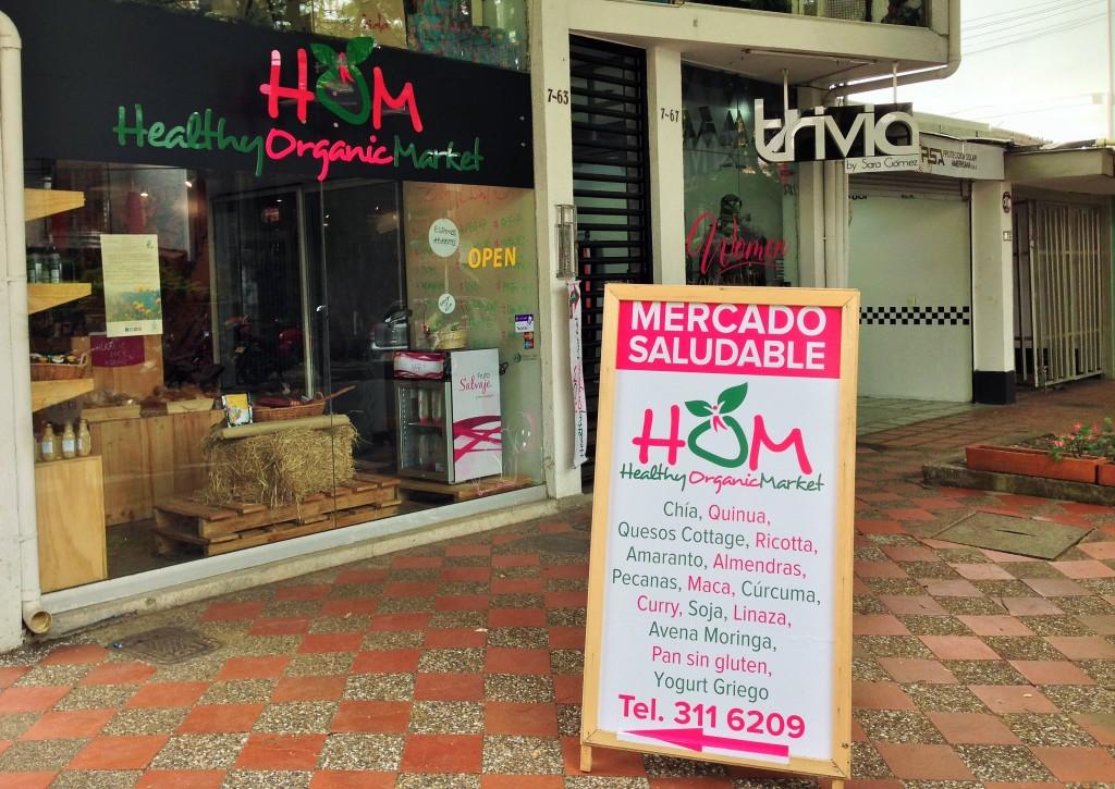 Healthy Organic Market, Medellin, Colombia