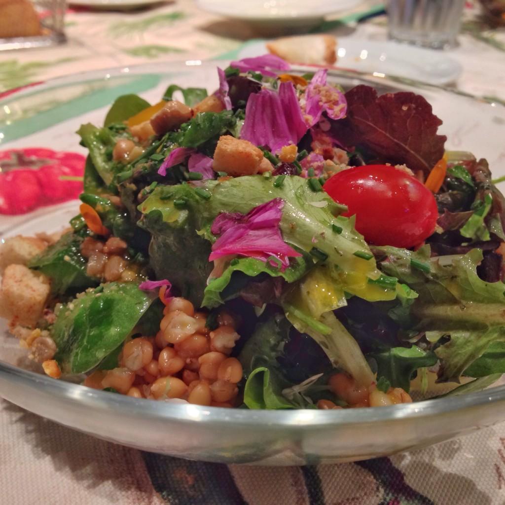 Organic Vegan Salad