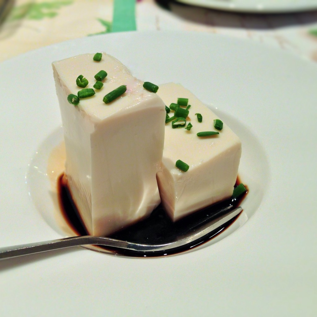 Tofu Towers with Soy Sauce