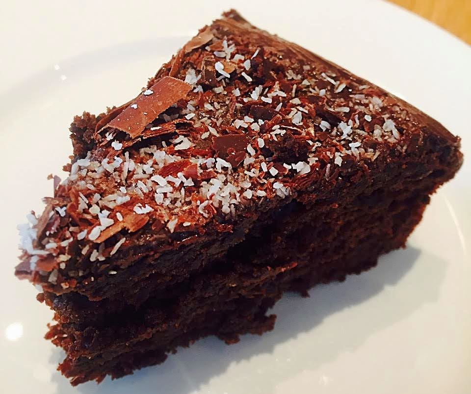 vegan chocolate cake edinburgh