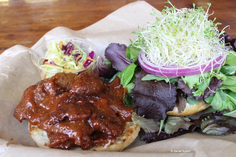 The Seed Vegan Burger