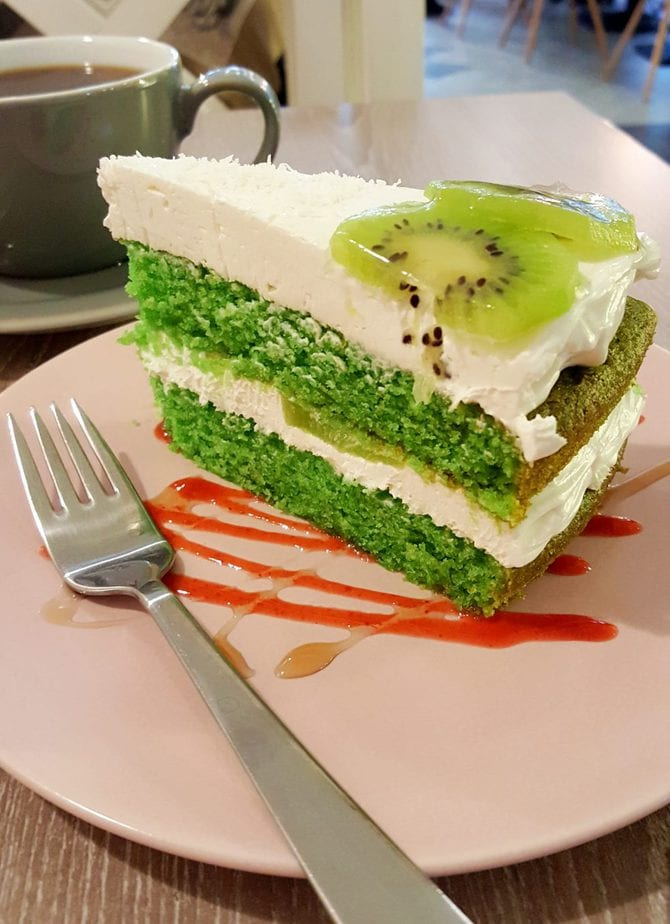 Forrest Bistro Vegan Cake in Prague