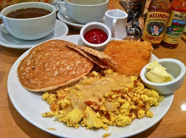 Real Food Daily Vegan Breakfast Los Angeles