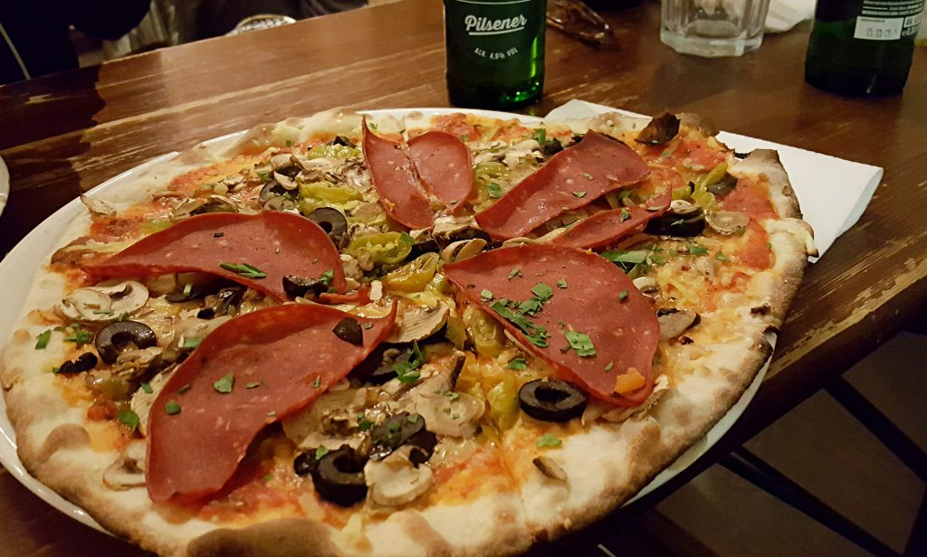 best vegan pizza in hamburg