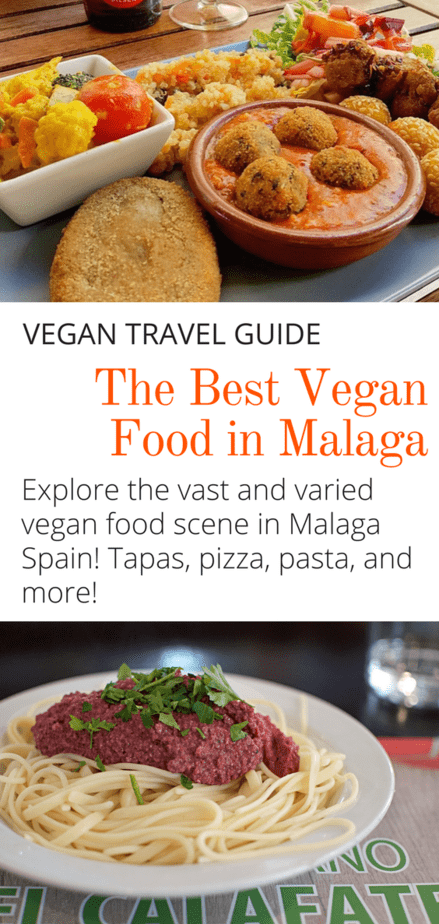 The Best Vegan Food in Malaga: Spain has arrived...to the vegan party! And Malaga is no exception. The vegan scene in Malaga is on fire. Click here to discover the best vegan food in Malaga Spain! #spain #veganfood