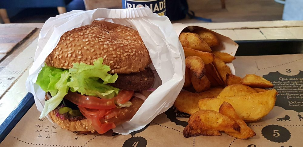 Hank Vegan Burger in Paris