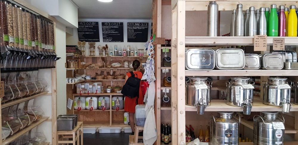 Bezobalu Zero Waste Shop in Prague