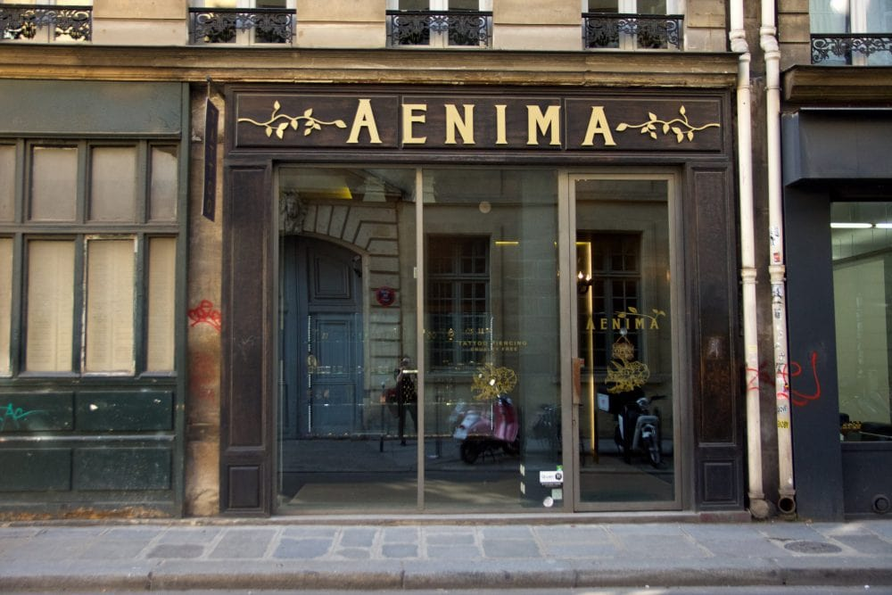 Aenima Vegan Tattoo & Piercing in Paris