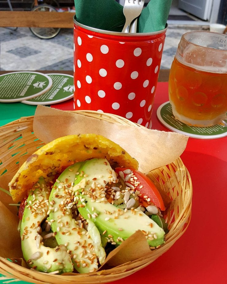 Vegan Arepas in Prague