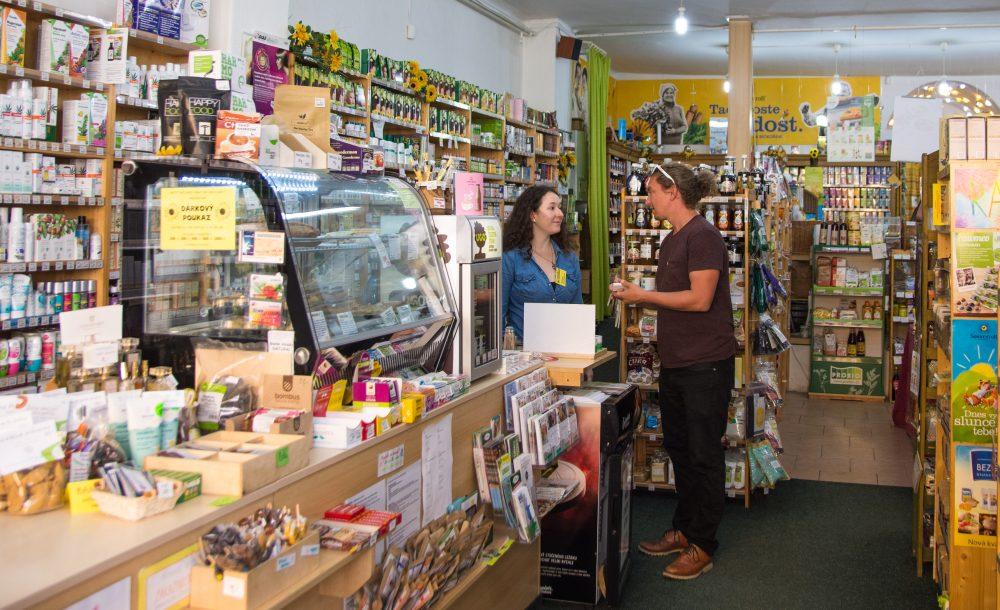 Slunečnice Health Food Shop Ceske Budejovice Czech Republic