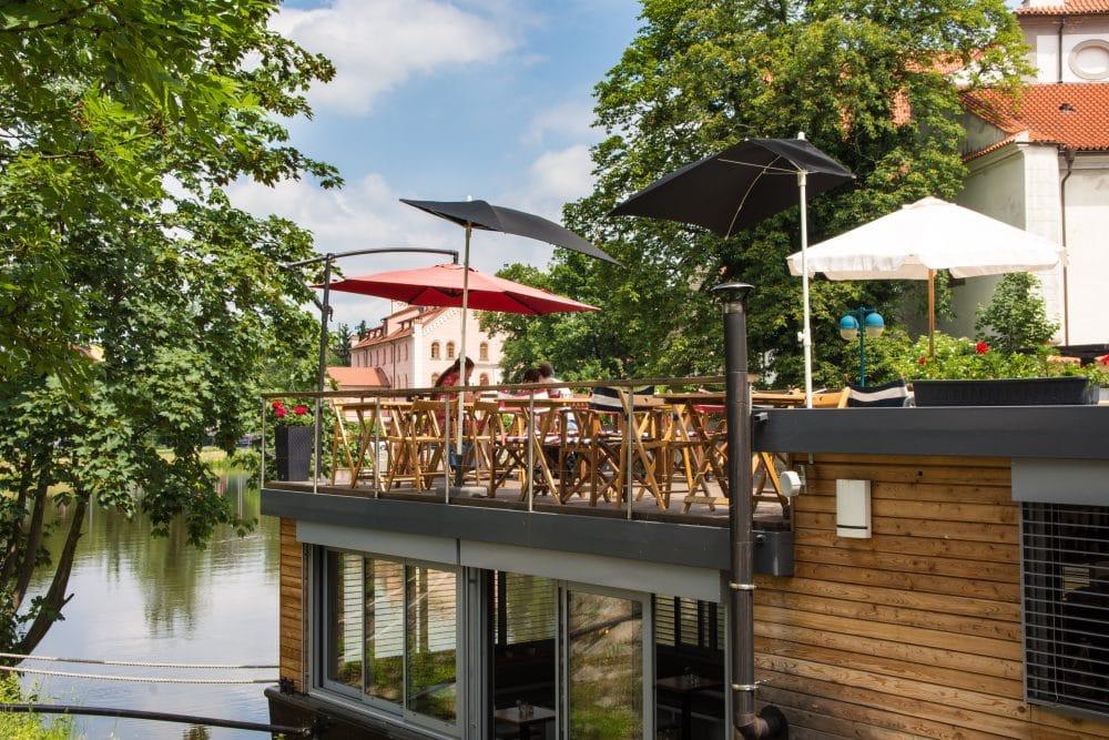 Kavárna VLNNA in Ceske Budejovice