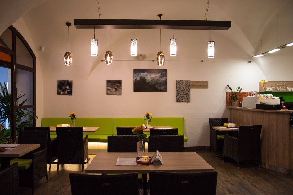 Slunce Restaurant in Ceske Budejovice