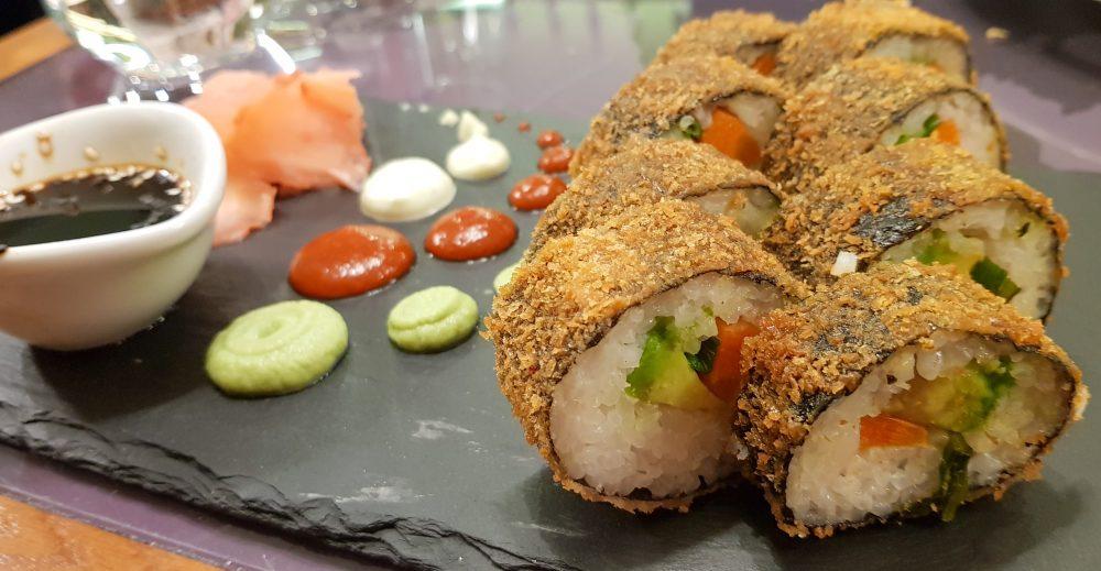 Vegan Fried Sushi from Etnosvet in Prague