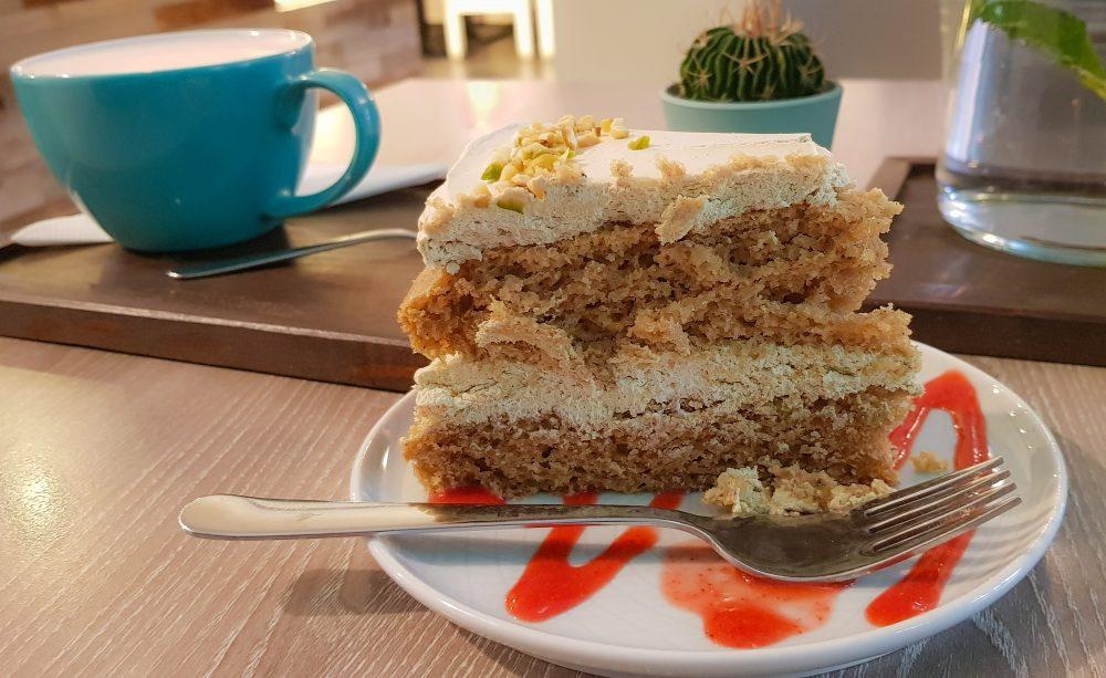 Forrest Bistro Pistachio Vegan Cake Prague