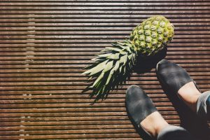 Vegan Shoes made from Pineapple leaves