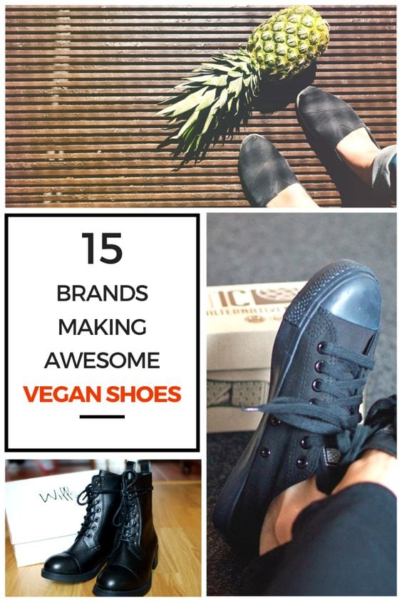 Vegan shoes are having a moment! Here are 15 brands you can check out for your vegan shopping list! What's that pineapple have to do with it? Check out the article to find out!