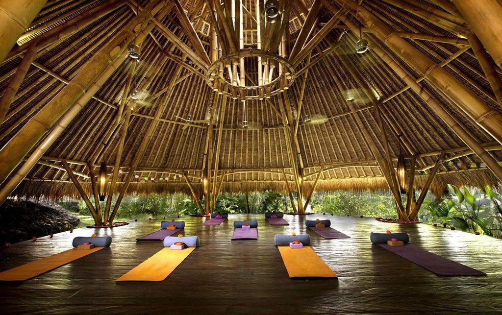 Blue Karma Yoga room