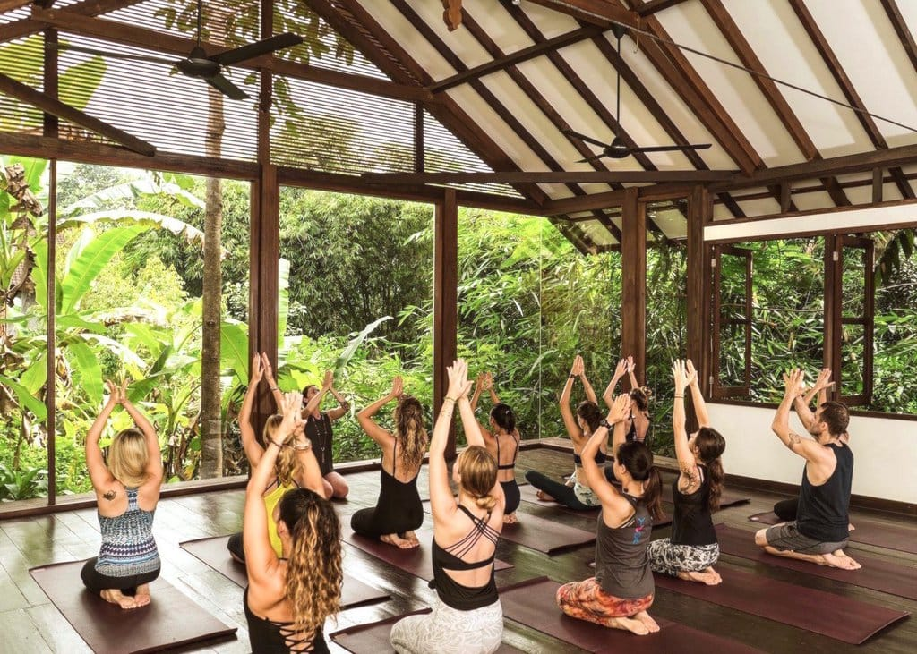 Yoga at Six Elements in Bali