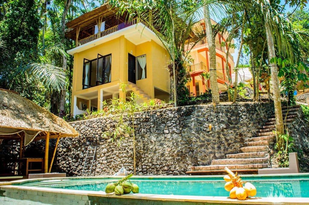 Bali Yoga Retreat at Shanti Toya Ashram
