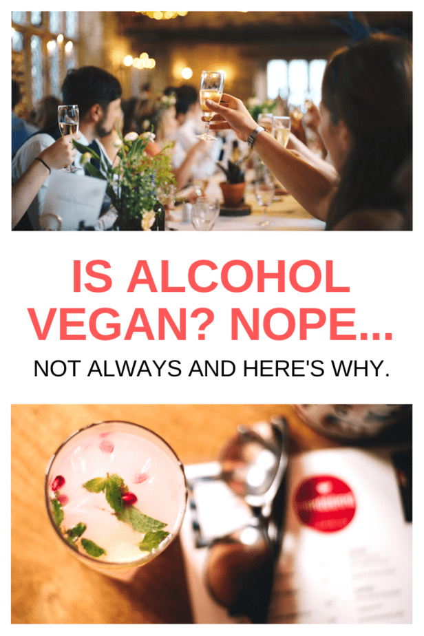 Is alcohol vegan? Can vegans drink alcohol? Surprisingly the answer is not always yes. There are a lot of pretty weird things lurking in some of your drinks!