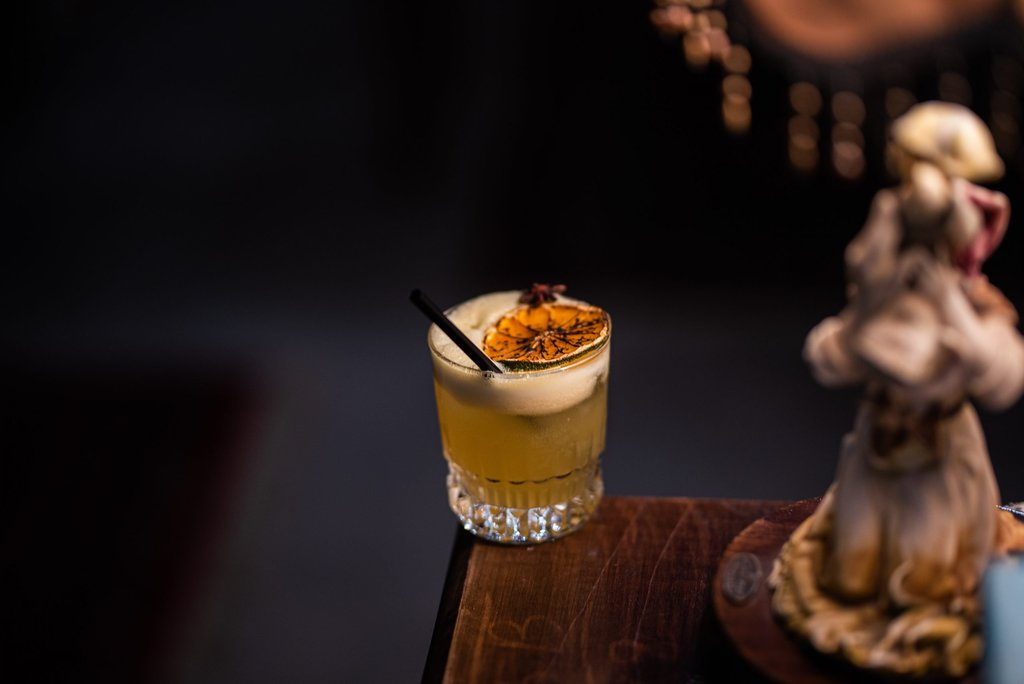 Non-vegan Cocktail
