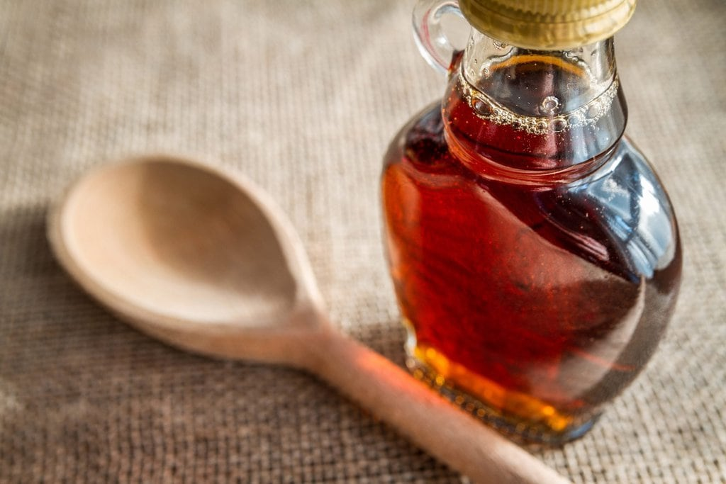 vegan honey alternative - maple syrup