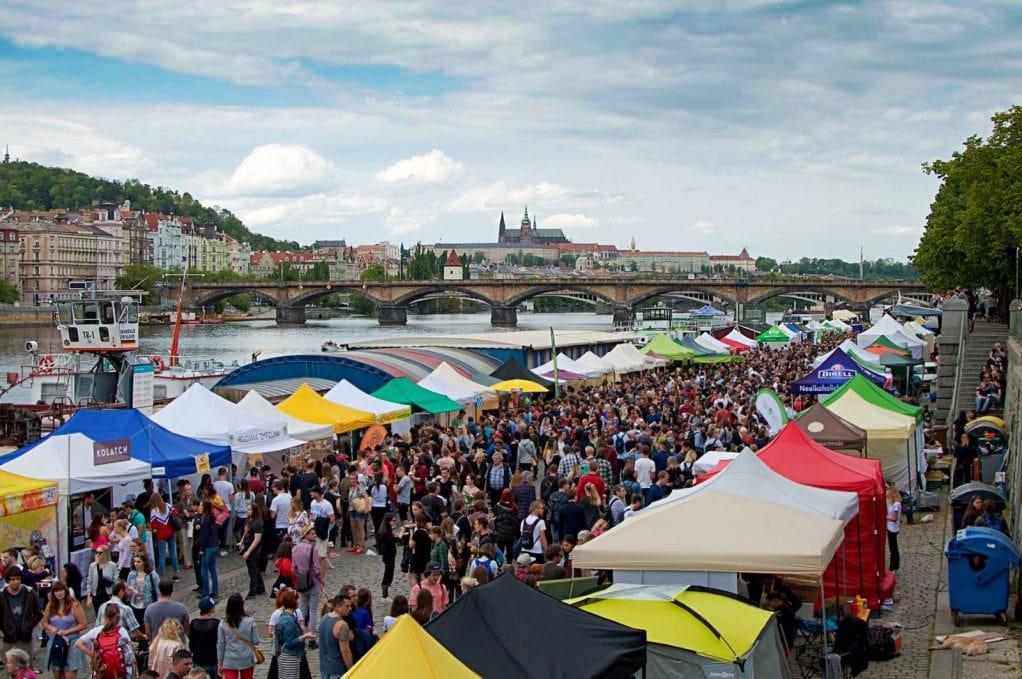 Veggie Naplavka - Vegan Festival in Prague