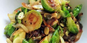 Vegan Pan-Roasted Brussels Sprouts