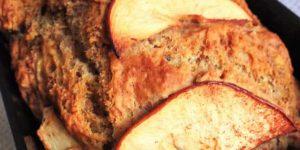 Vegan Banana Apple Bread