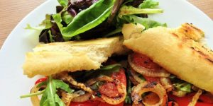 Grilled Vegan Tofu Veggie Sandwiches